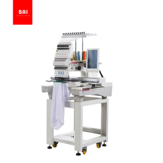 BAI China Best New Condition High Speed Embroidery Machine for Garment Hat T-shirt