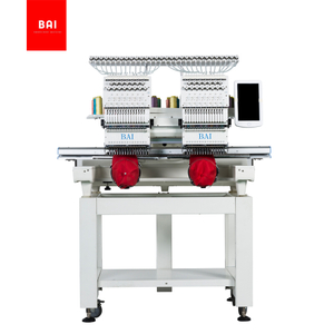 BAI High Speed 2 Heads Cheap Price Home business Embroidery Machine