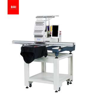 BAI High Speed Automatic Hat Single Head Computer Embroidery Machine with Big Area