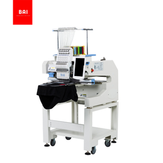 BAI High Quality 1200 Speed Dahao Computer Small Embroidery Machine Price for Hat