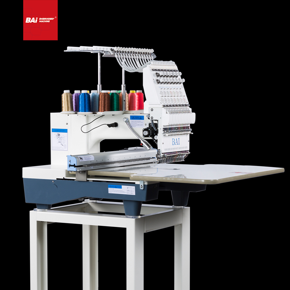 BAI Home Single Head Multi-function T- Shirts Computer Embroidery Machine with Latest Technology