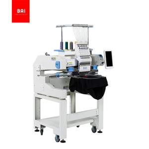 BAI Single Head 400*500mm 1200 Spm Tshirt Cap Flat Logo Computerized Embroidery Machine