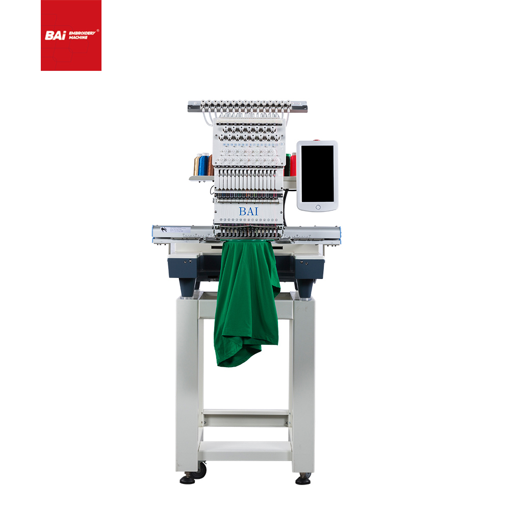 BAI Embroidery Machine Is A Typical Multifunctional Embroidery Machine Controlled by Computer
