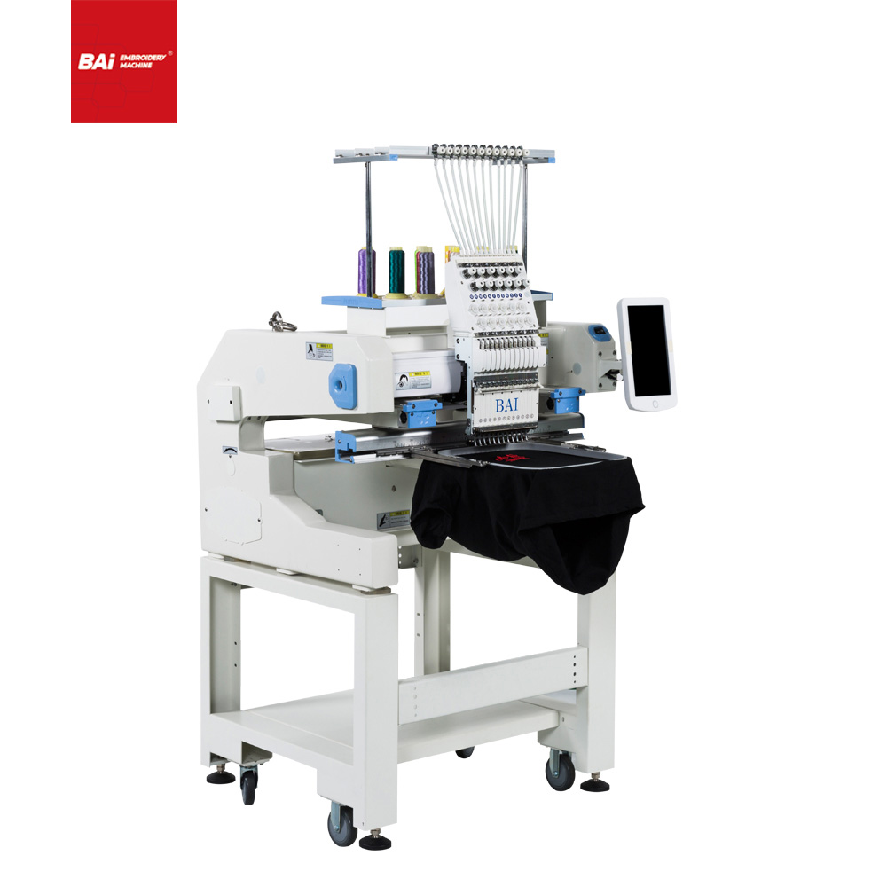 BAI High Speed Laser Embroidery Machine with Computerized Flat
