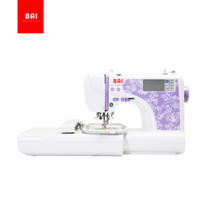 BAI multi-function domestic household computerized embroidery sewing machine