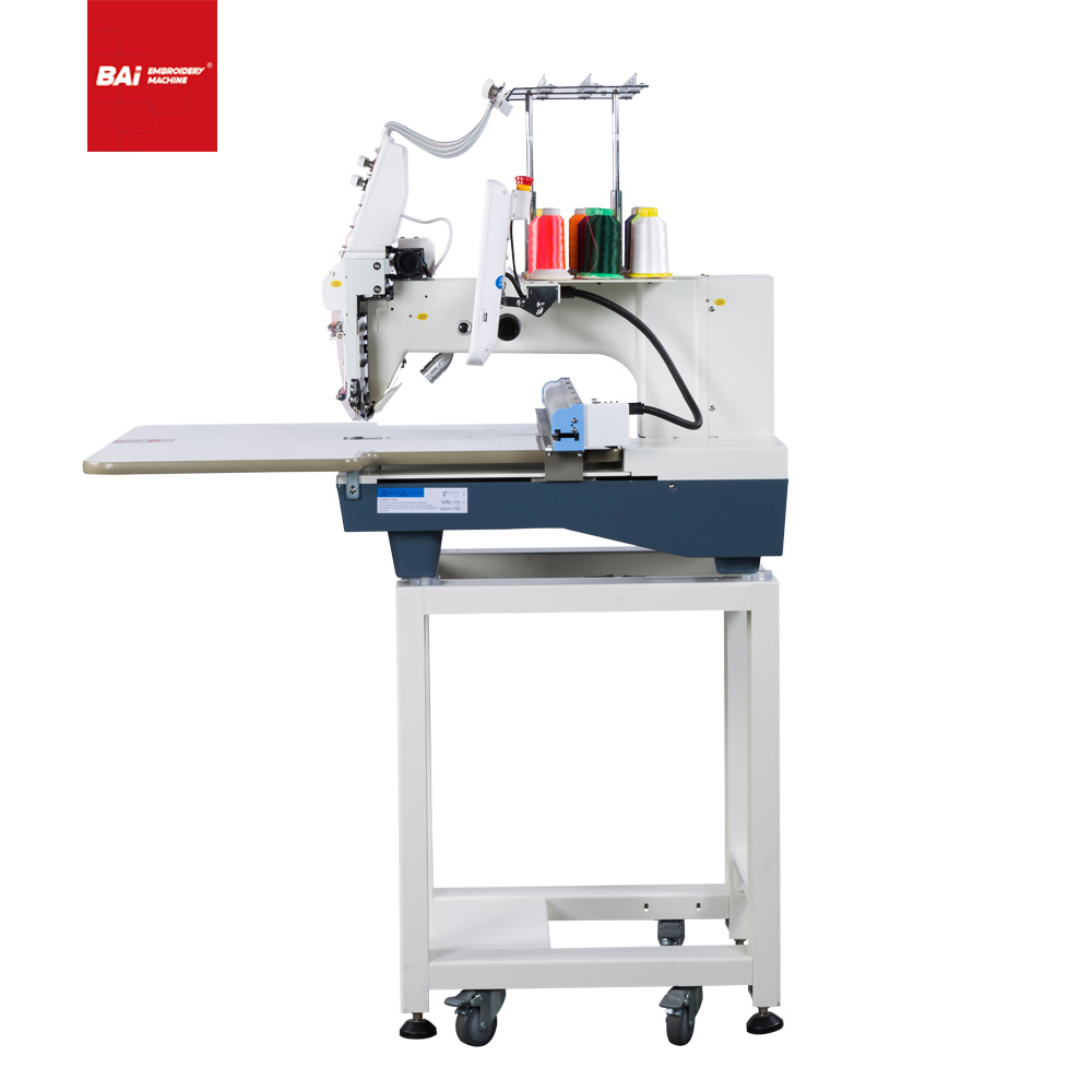 BAI Small High-speed Single-head Industrial Computerized Embroidery Machine for Commercial