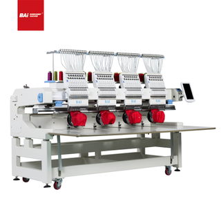 BAI Hot Selling High Speed Four Head Automatic Computer Cap Embroidery Machine