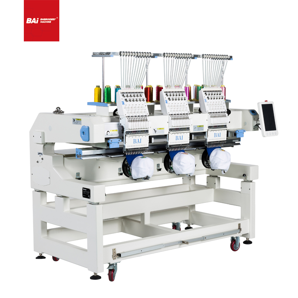 BAI High Quality Multifunctional Computerized Embroidery Machine with Good Price