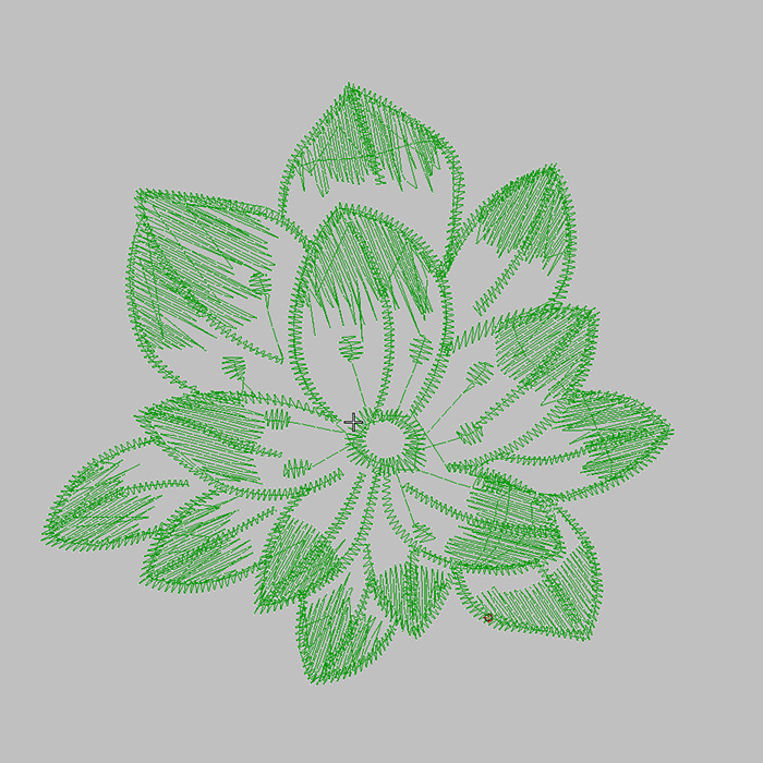 The Most Popular Embroidery Pattern in 2020 Monochrome Lotus Embroidery ForEmbroidered Shirt