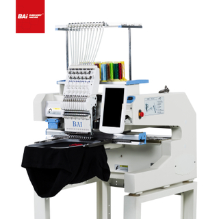 BAI Good Quality 400*500mm Flat/hat Embroidery Machine