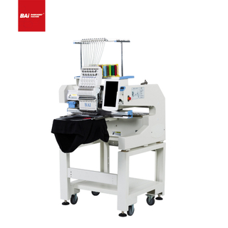 BAI Domestic Embroidery Machine with Computerized 12 Needle for Tshirt with Good Price