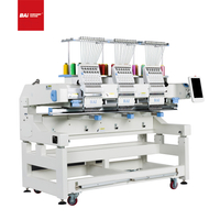 BAI Popular 3 Heads High Speed Large Area Computerized Embroidery Machine