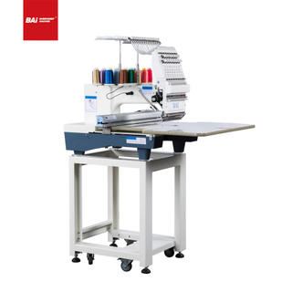 BAI Single Head High Quality Computerized Embroidery Machine That with Stepping Motor