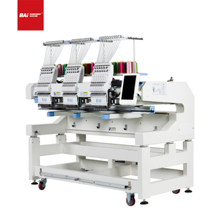 BAI Multi Head 12 Needles High Speed Computerized Embroidery Machine with High Efficiency
