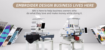 How about BAI brand embroidery machine?