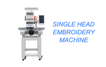 BAIMA High Speed single head computer embroidery machine