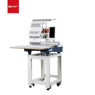 """BAI Automatic Computerized Embroidery Machine with High Speed To Embroidery Cap T-shirt Flat """