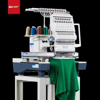 BAI Single Head High Speed Computerized Embroidery Machine with Fully Automated Operation
