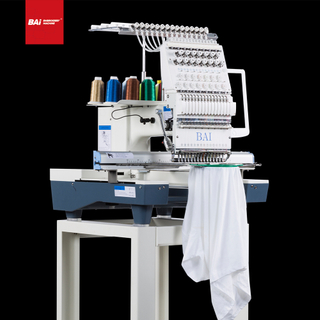 BAI Single Head Multifunctional Computerized Embroidery Machine with Full Touch Screen Operation
