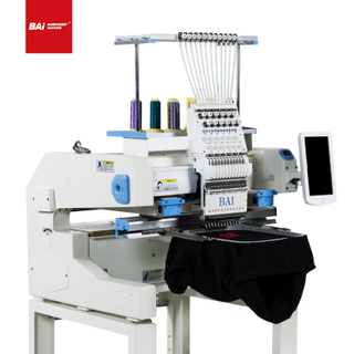 BAI Cap Flat Finished Garment Embroidery Machine with Computer