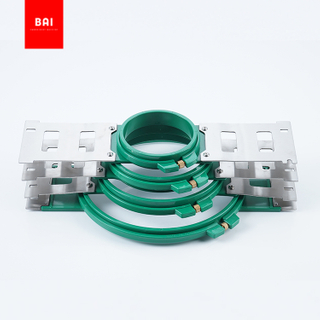 BAI Apparel machine parts plastic clothes hoops for embroidery machine