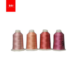 BAI High visibility reflective 100% polyester embroidery machine thread