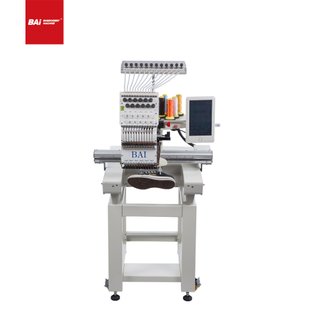 BAI Single Head High Speed Automated Industrial Computerized Embroidery Machine