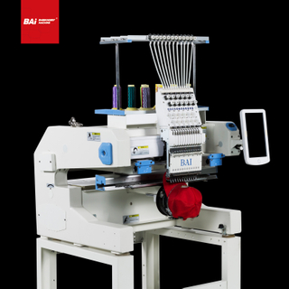 BAI High Quality Single Head Embroidery Machine with Computer for Price