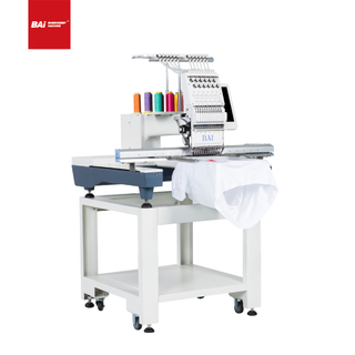 BAI Computerized Operation 500*800mm Flatbed Embroidery Machine for Garment