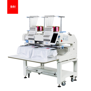 BAI Hot Sale Commercial Dahao Computer 12 Needle Two Heads Embroidery Machine Price