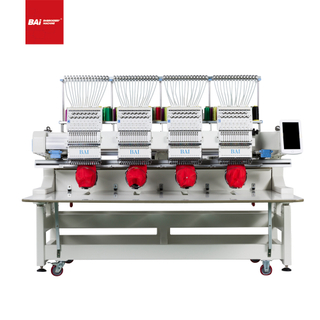 BAI High Quality 4 Head 12 Needles Computerized Embroidery Machine for Long Use Time