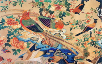 The characteristics of traditional Chinese embroidery(一)