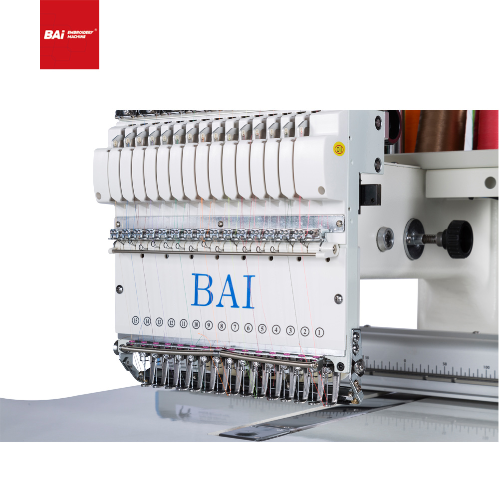BAI Mini Desktop Single Head Computerized Embroidery Machine with High Popularity
