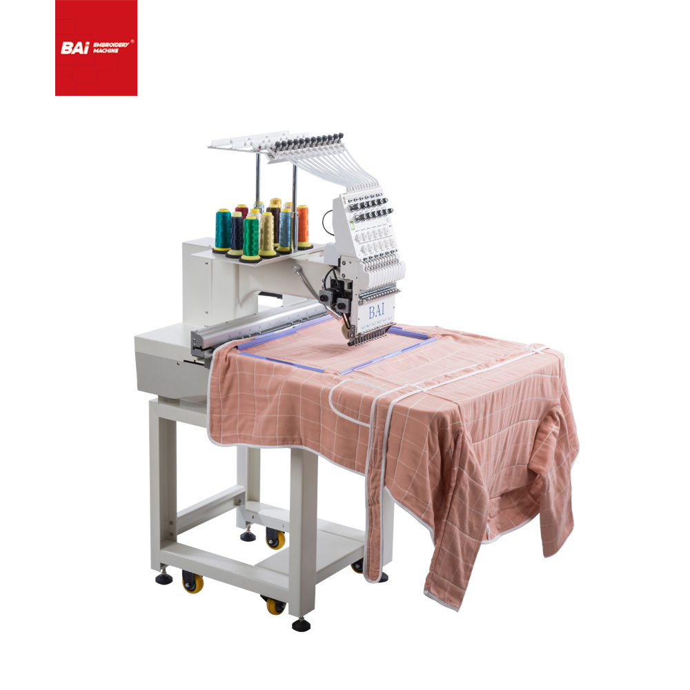 BAI Chain Computerized Embroidery Machine with Hign Speed for Sale