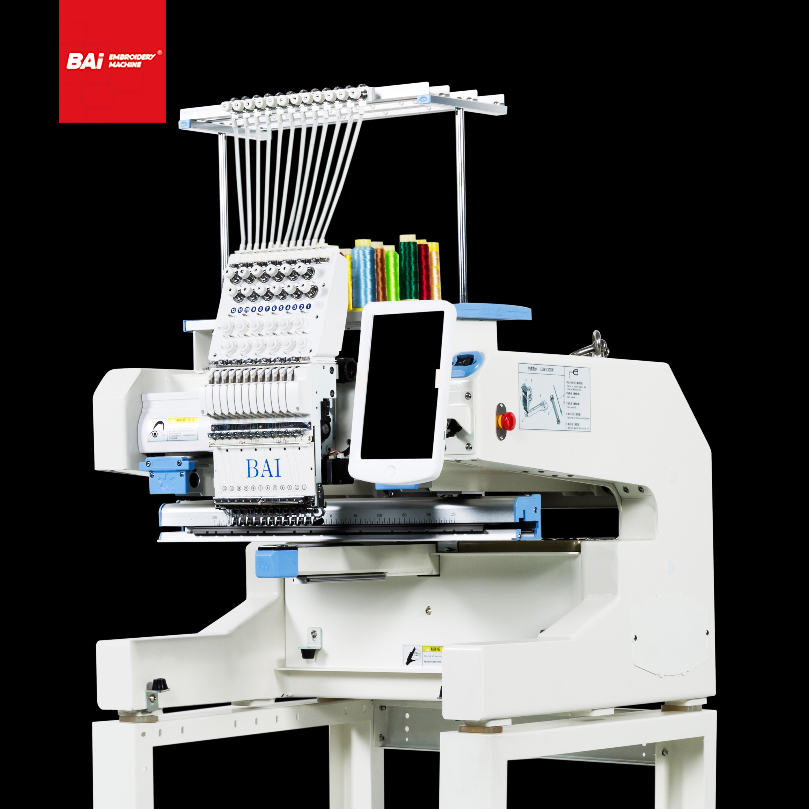 BAI Computer Controlled Embroidery Machines for Machine Embroidery Designs