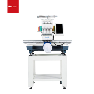 BAI One Head 12 Colors Computerized Embroidery Machine for Flat Garment